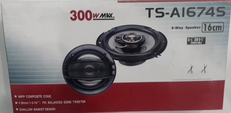 Авто акустика Pioneer 16 см (TS-1674E)