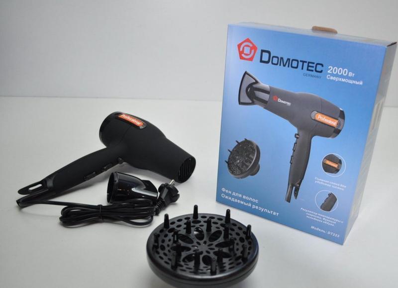 Фен для волос Domotec DT223