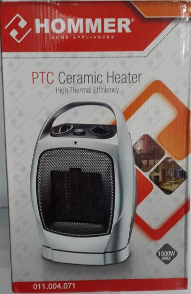 Керамический обогреватель, тепловентилятор Hommer