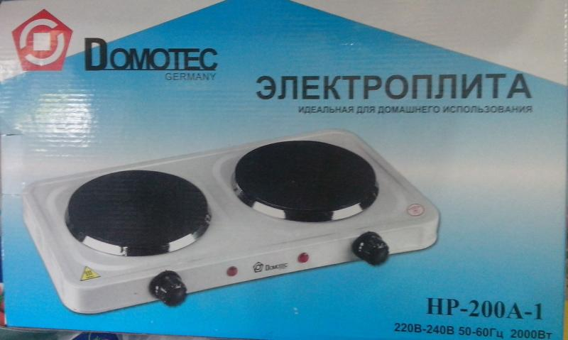 Электроплита Domotec HP-200A