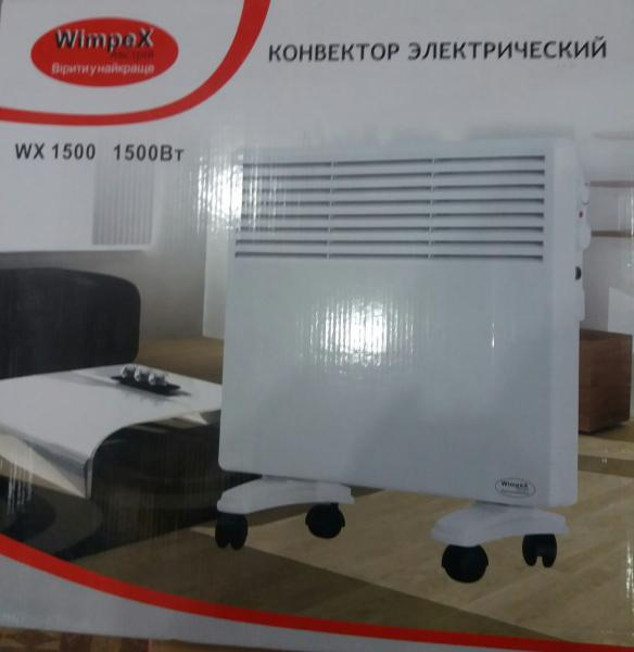 Электрический обогреватель конвективного типа Wimpex 1500w