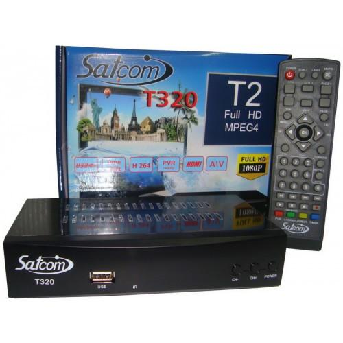 T2 тюнер satcom 320