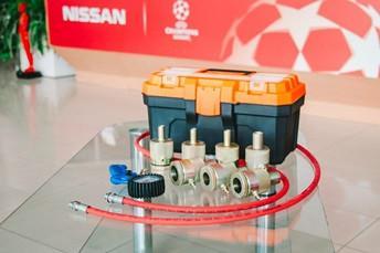 Оборудование для ремонта газомасляных амортизаторов 7 шт.