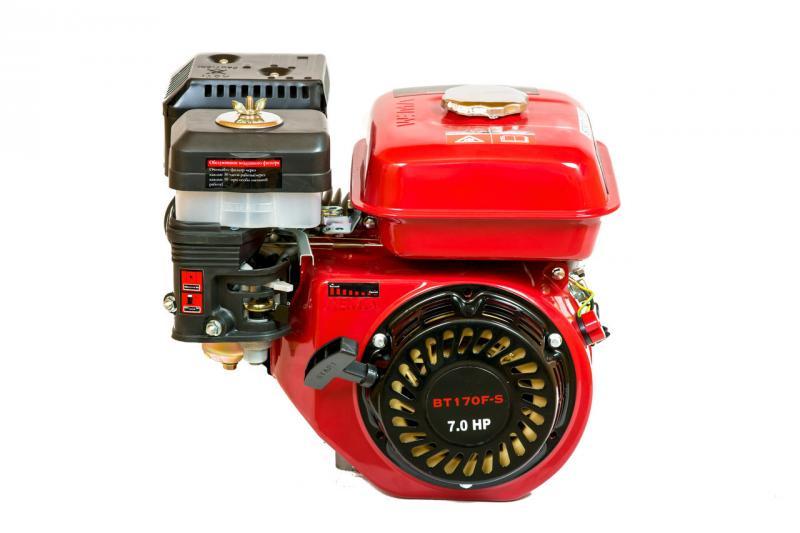 Двигатель бензиновый WEIMA BT170F-S (вал под шпонку)