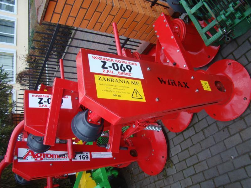 Косилка ротационная Wirax Z-069/1 1,35 м