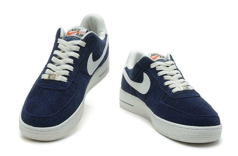Nike Air Force low синие