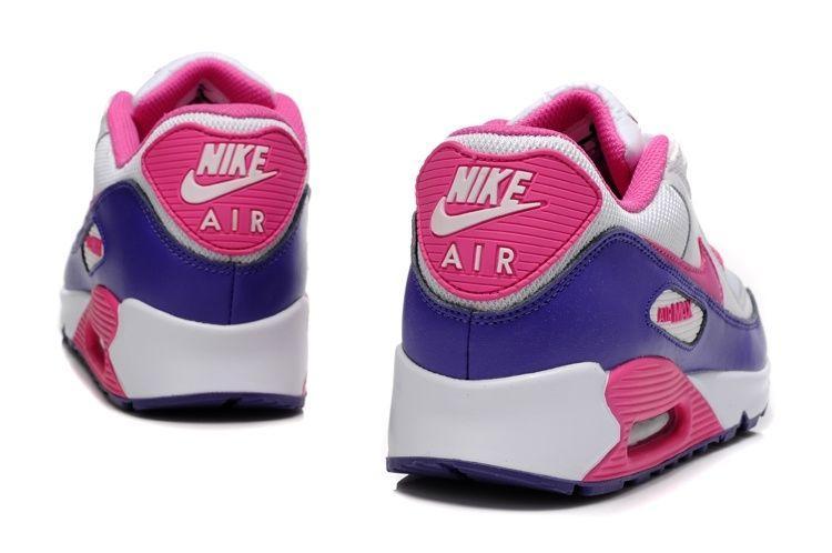 Nike Air Max 90 (белый, розовый)