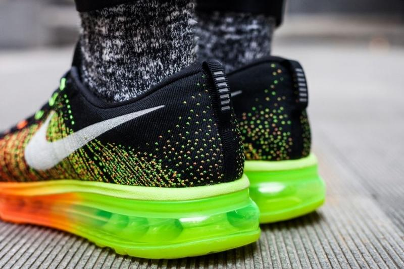 Nike Air Max Flyknit 2014 black