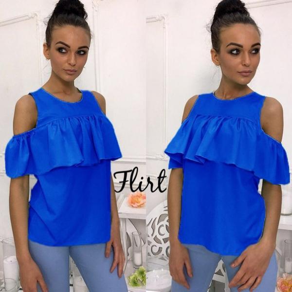 Блуза Рюша