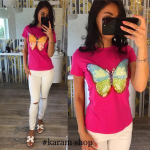 Фото Футболки, блузи, кофти - верх Футболка Метелик