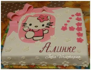Фото Торты, Детские торты Торт Хелло Китти (Hello Kitty)