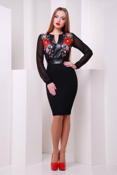 Фото Одяг з вишивкою Плаття шифонові рукави 09a3d7744f8e5