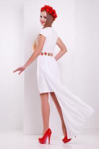 Фото Одяг з вишивкою Максі Біле