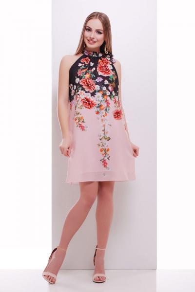 Фото Одяг з вишивкою Плаття шифон квіти a0b78d34803e5