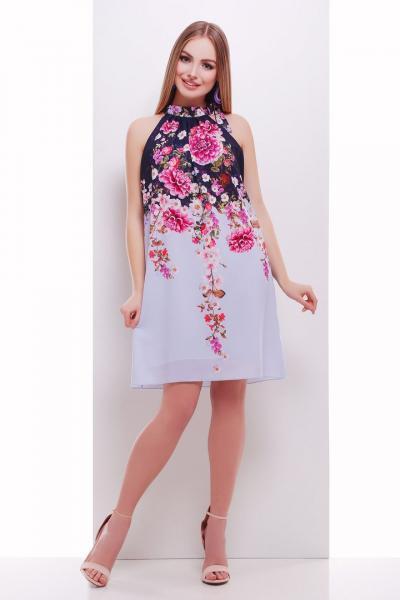 ... Фото Одяг з вишивкою Плаття шифон квіти 7883bbd3c1cca