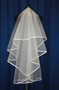 Фото Свадебная фата Фата с бейкой 1,5 см