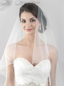 Фото Свадебная фата Фата Капелька 2,5 метра