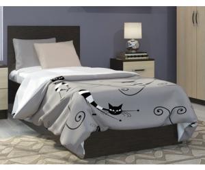 Ронда кровать 0,8м (ДСВ МЕБЕЛЬ)