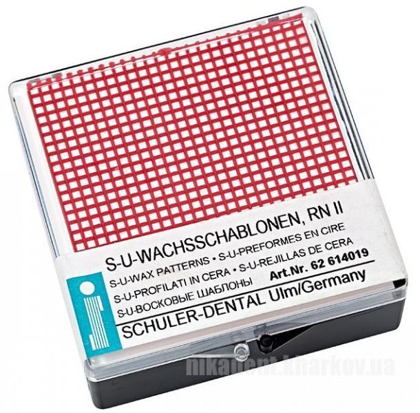 Фото Для зуботехнических лабораторий, МАТЕРИАЛЫ, Воска Ретенционная сетка малая RN II SCHULER-DENTAL