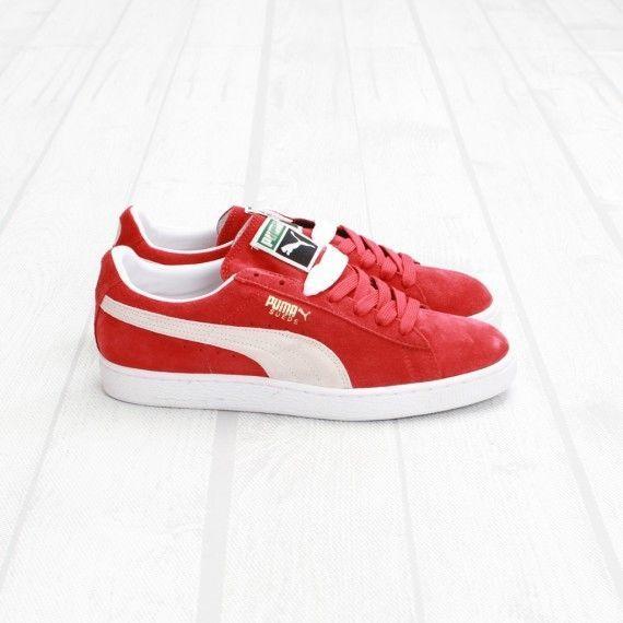 Puma Classic red