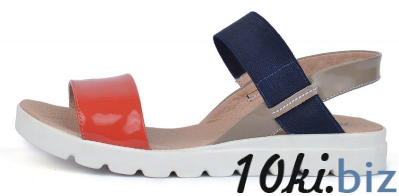 Босоножки женские кожаные на платформе Great Shoes красные синие хаки, цена фото купить в Киеве. Раздел Босоножки и сабо женские