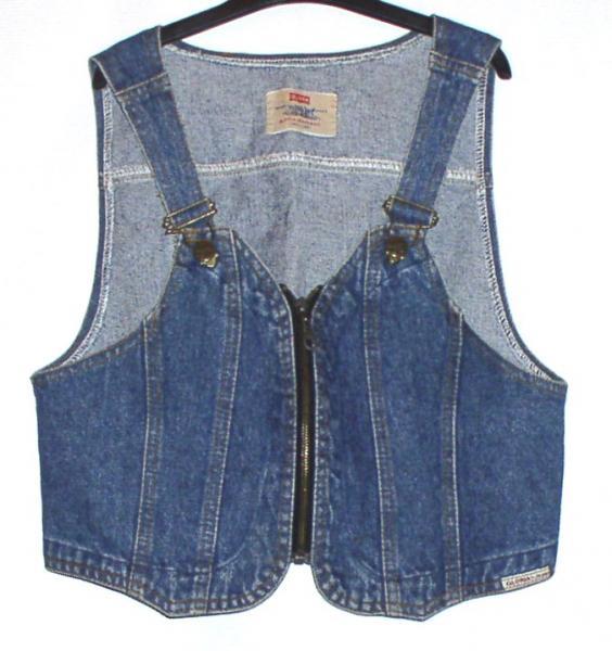 Жилет джинсовый женский *6015