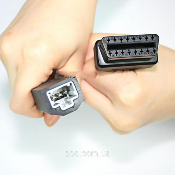 OBD 2 разъем 16 Pin для Хонда 3 Pin