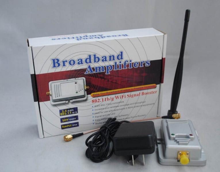 Беспроводной 2,5 Вт 34dBm Wi-Fi широкополосный усилитель сигнала 802.11 B / G / N