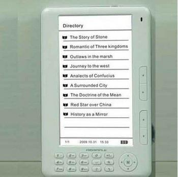 """7 """"для чтения электронных книг TTS 4GB 480 * 800 пикселей + 2400mAh аккумулятор 720P MP4 Player Цифровая фотор"""