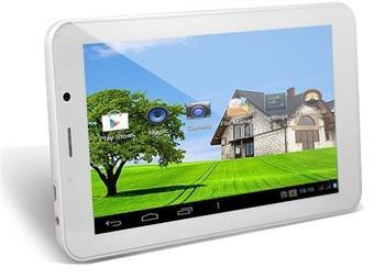 7-дюймовый планшетный ПК MTK8312 двухъядерный встроенный 3G, экран высокого разрешения 1024 * 600 пикселей, по