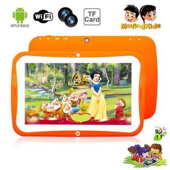 """Ультра тонкий 7 """"Kid Tablet PC для Ребенка Android 4.2 RK3026 Двухъядерный Двойная камера 1,2 ГГц 512M 8GB WIF"""