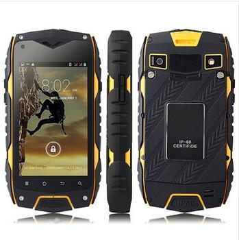 Оригинальный телефон 4,0-дюймовый экран Jeep Z6 3G мобильный Dual Core 1,3 ГГц 512 4GB 5-Мп камерой GPS IP68