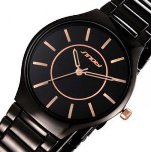 Фото  Классические женские  часы бизнес кварцевые наручные reloj relogio 0031