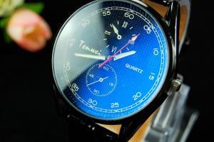 Фото  Мужcкие наручные часы  кварцевые кожа спорт  Relogio Masculino
