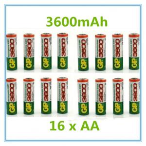 Фото  GP AA аккумуляторная батарея 3600 мАч ,аккумулятор 1.2 В Ni MH