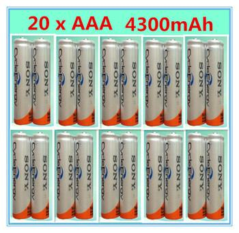 Ni-mh AAA HR03 3A аккумуляторы 1.2 В 4300 мАч