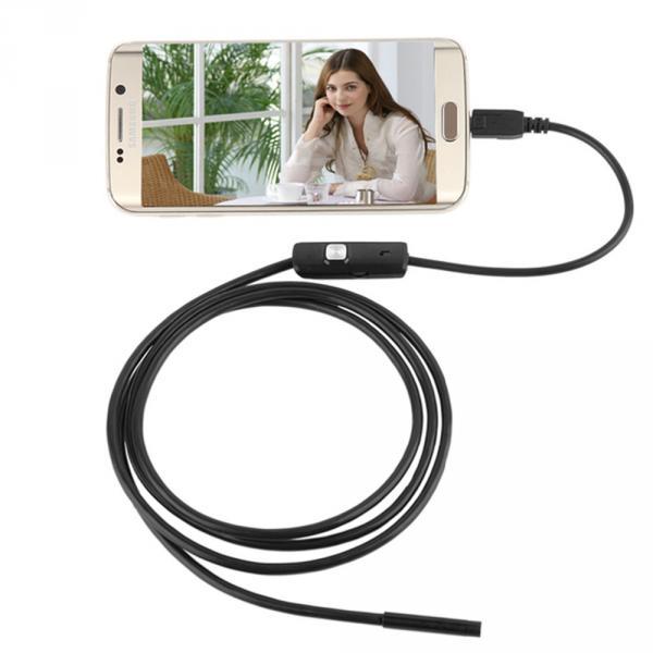 7/5 мм Объектив MircoUSB Android OTG USB  Эндоскопа 2 М/ Водонепроницаемый