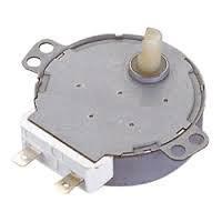 Мотор вращения тарелки СВЧ (пластиковый вал)