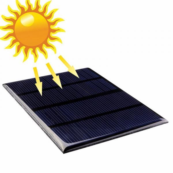 Солнечная панель 115 х 85 мм. 1,5 Вт 12 V