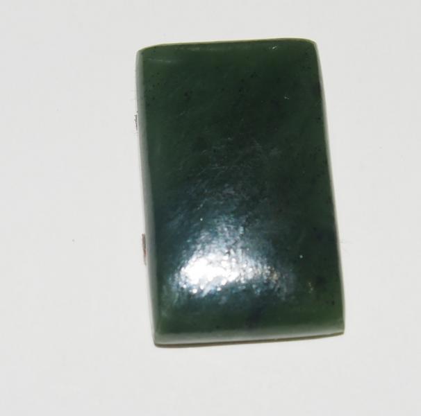 Кабошон нефрит 21х13х4 мм