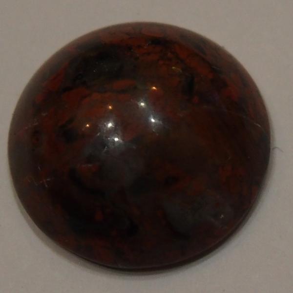 Кабошон из яшмы D21,0х8 мм