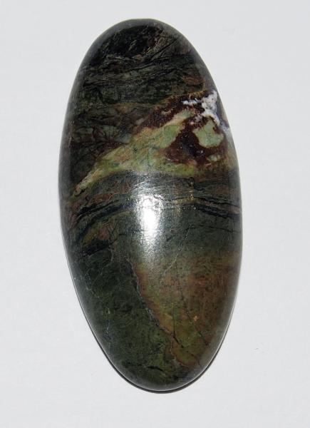 Кабошон из яшмы 38х18 мм