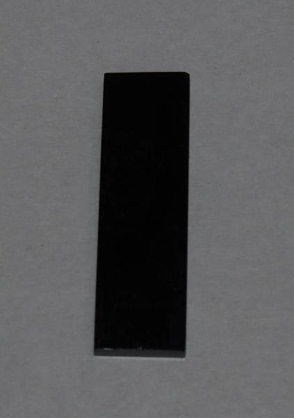 Кабошон агат 26х8х2,5 мм плоский