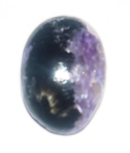 Кабошон чароит экстра 18х13х5 мм натуральный камень