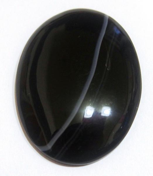 Кабошон агат 40х30 мм натуральный камень