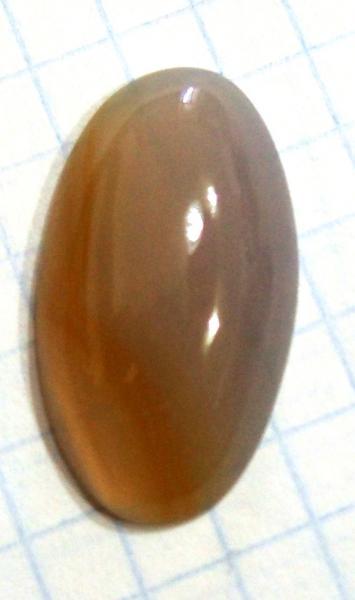 Кабошон агат 40х20 мм натуральный камень