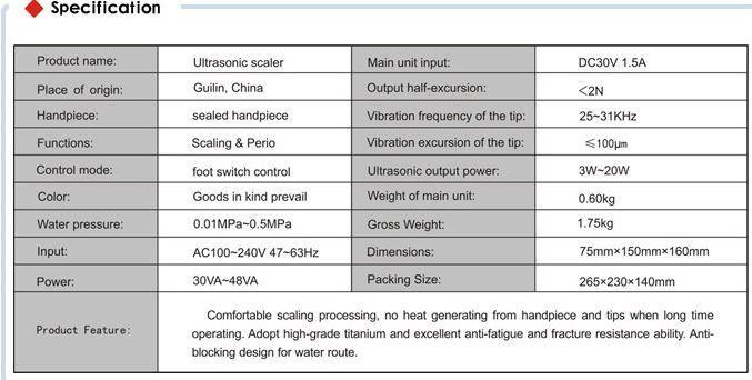 Характеристики скалера VRN-B