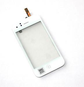 Фото Аксессуары и комплектующие для мобильных телефонов , Тачскрины (Сенсора) Тачскрин + спикер+ кнопка Home + датчик приближения (В сборе) iPhone3G/3GS white (TEST)
