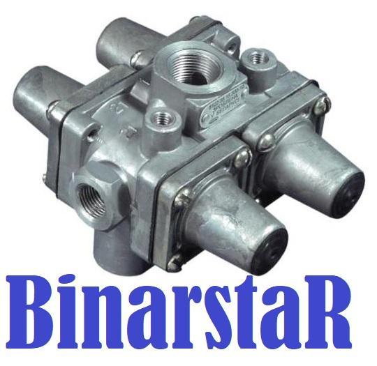 8122.35.15.300 Клапан защитный четырехконтурный (14 3515410, 100 3515511, 9347141100)