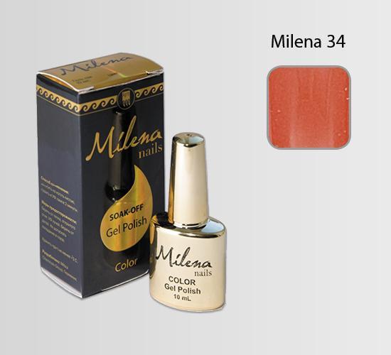 """Гель -лак для ногтей """"Милена"""" 34"""